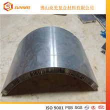 stainless steel colummn aluminum honeycomb sandwich panel