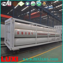 40 Feet Cng Semi-Trailer Steel Cylinder Cng Container , Composite Cylinder