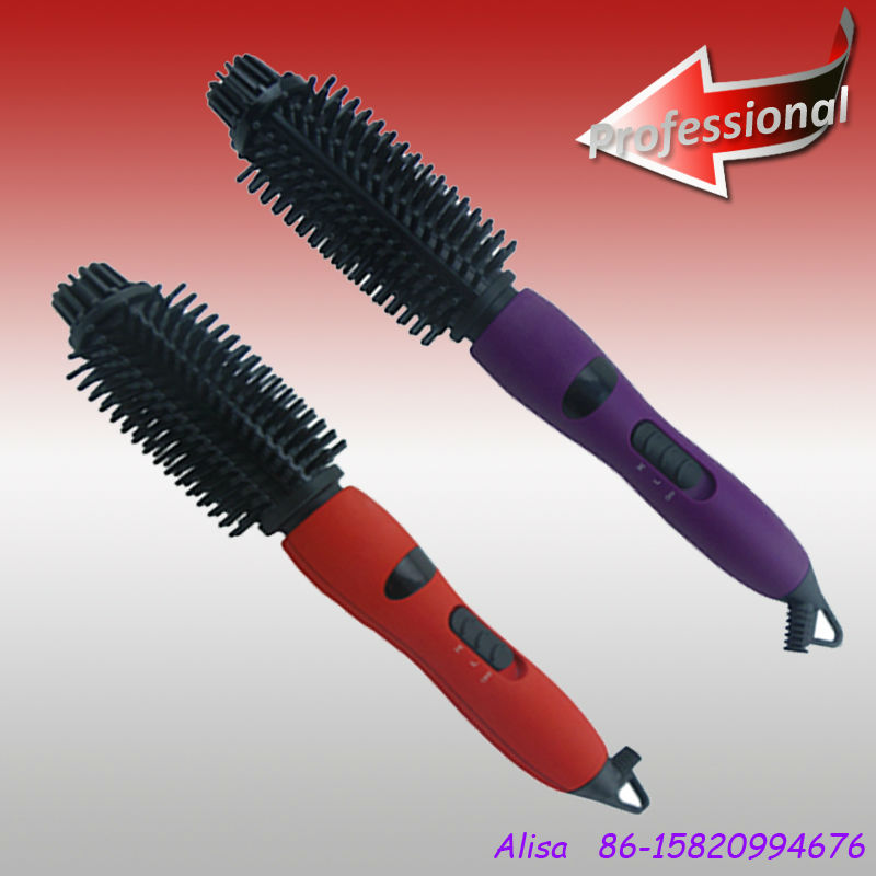 All in one professional swivel ceramic dual ionic hair styler