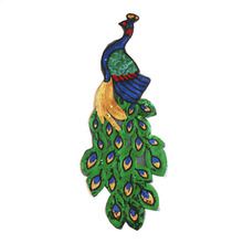 Wholesales Custom Sequins peacock Patch/Clothing Applique For Children Clothing