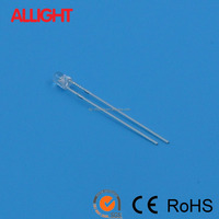 light emitting diode 3mm round warm white led