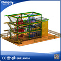 jungle adventure plays large indoor multi ropes course