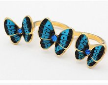 fashion butterfly rings