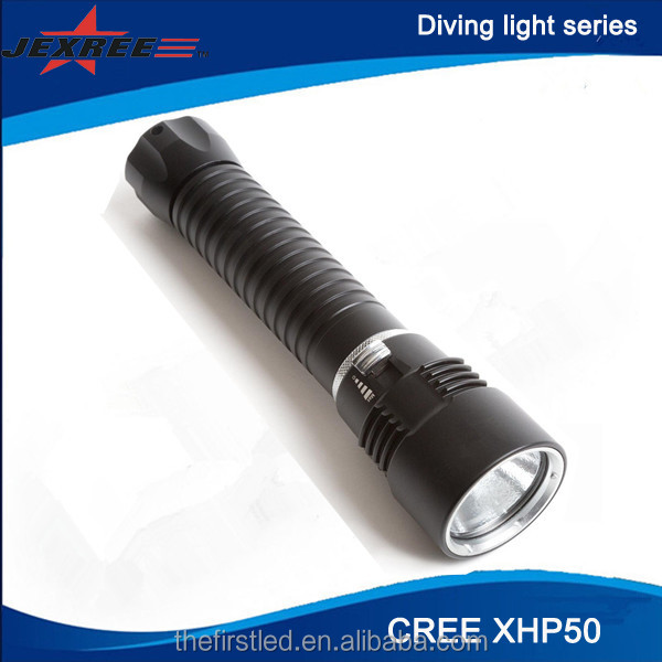JEXREE 2016NEW CREE XHP50 LED Scuba Diving Torches
