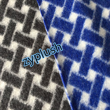 Wool Mohair Fabric for Women's Coat