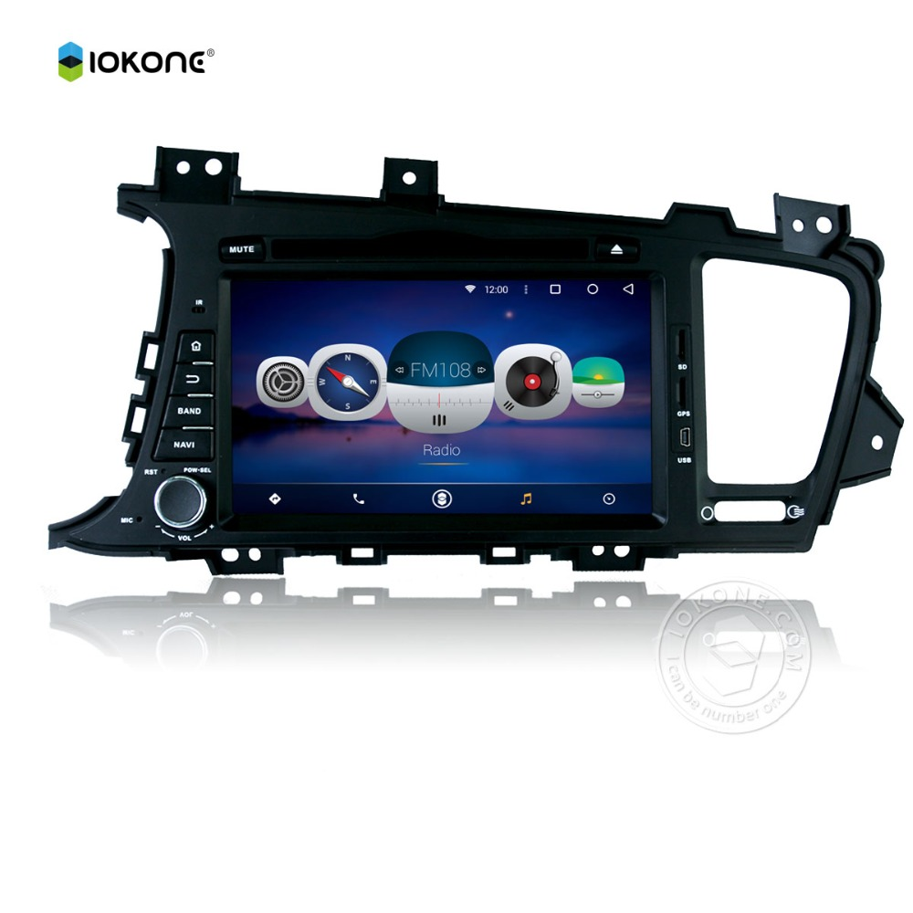 5.1 android car audio 2 din for K5 2011-2012 popular touch screen car audio