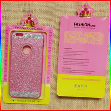 High quality custom made rectangular cell phone case packaging /blister packaging box