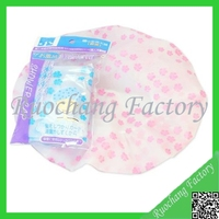 Transparent Disposable Ear Shower Cap for Hotel Use ,ear shower cap