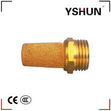Brass pneumatic fitting Pneumatic Muffler