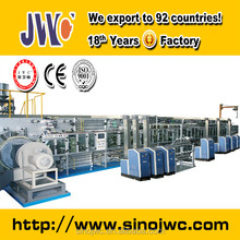 JWC full servo used full elastic waistband baby diaper making machine