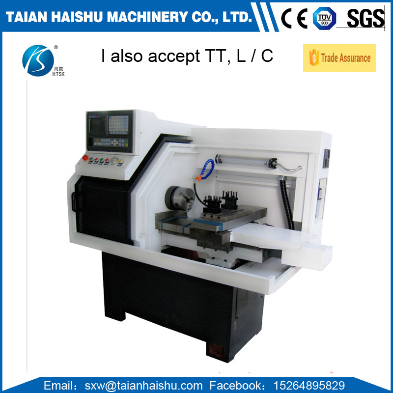 Teaching for small metal cutting CNC lathe