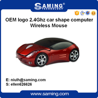USB Optical wireless mouse for Laptop PC/ computer mouse car shaped