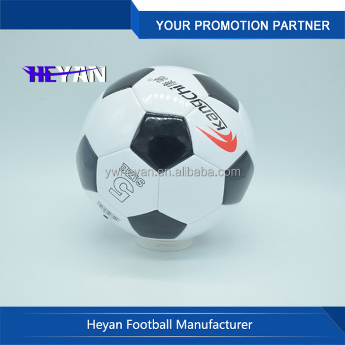 Machine stiched PVC small soccer ball for promotion