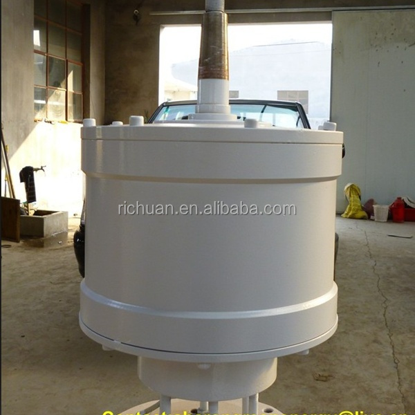 Hot sale ! 2014 New 2KW vertical axis wind turbine(permanent magnet alternator high safe and high efficency low rpm low cost)