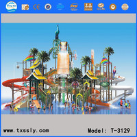 Great wate r house,fiberglass aqua house theme park equipment