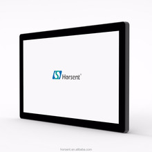 "Horsent 21.5"" wall-mount advertising display LCD touch screen monitor display Pcap"