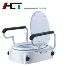Padded Custom Pp Plastic Eldly Commode Raiser Toilet Seat For Disabled Handicaps Indian Style Toilet Seat