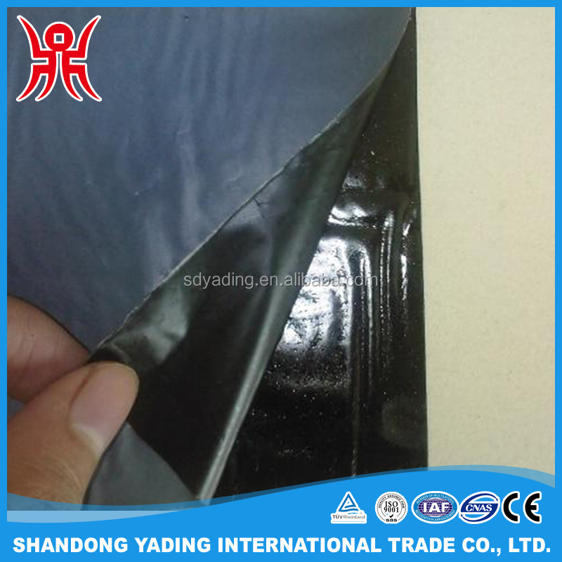 Apple Green HDPE Self-adhesive Bitumen Waterproof Membrane for Building roofing/underground/bridge