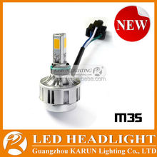 Factory Price Long Lifespan M3S 12v led lights motorcycle led headlight for bajaj 150cc pulsar motorcycle