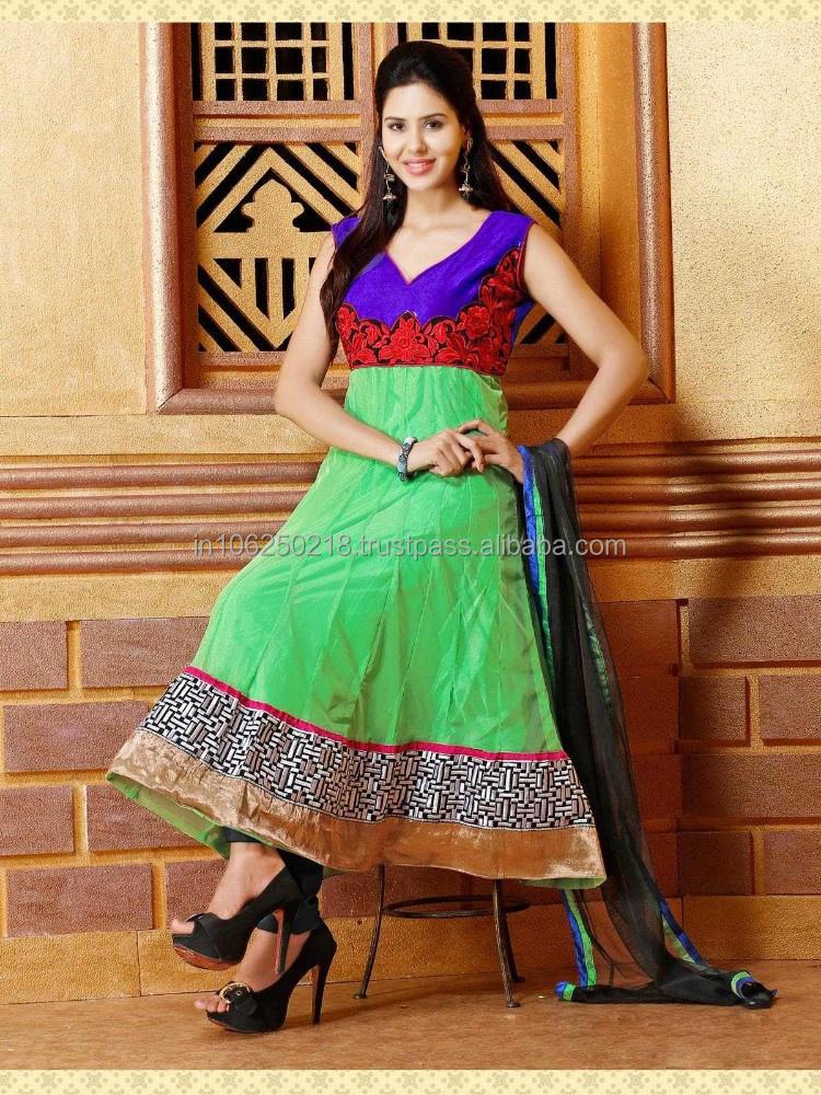 Designer indian pakistani heavy handwork anarkali suits R1258