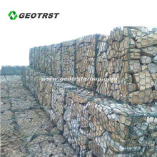 Gabion basket welded mesh for corrosion protection