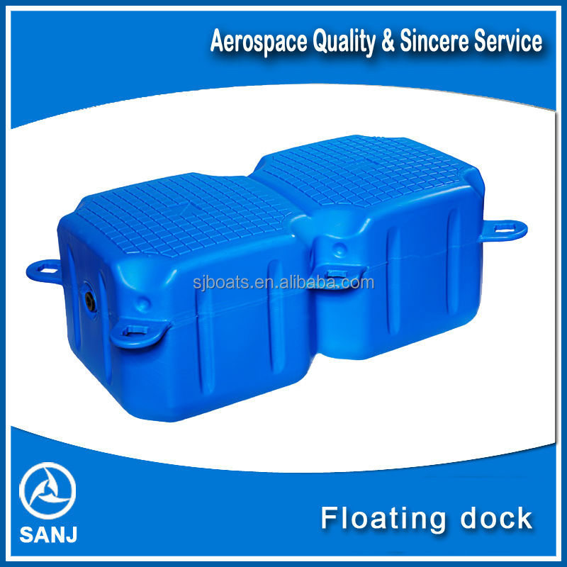 SANJ Floating dock plastic pontoons for sale