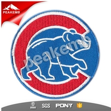 embeoidered Sports Team patches for clothing