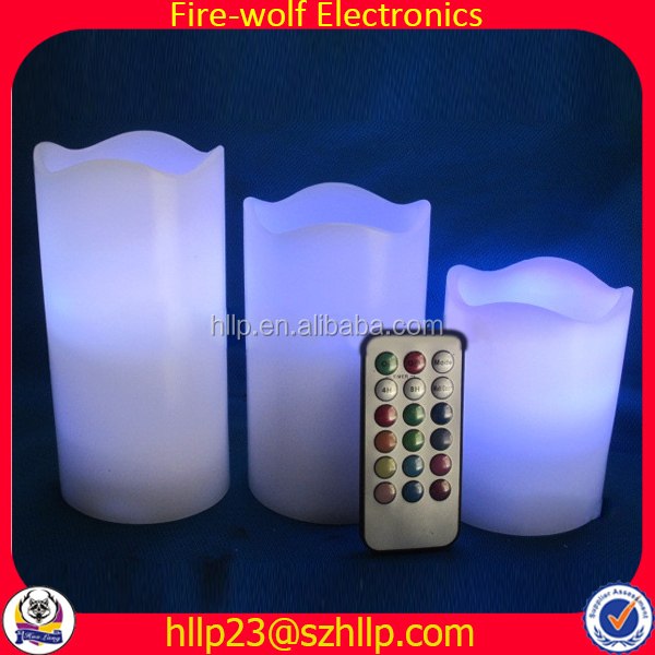 Best For Valentines Outdoor Decorations Fluorescence Flameless Candle