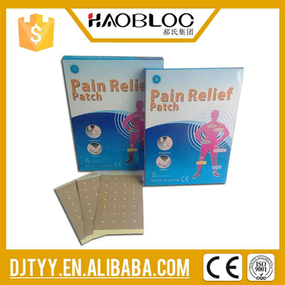 Chinese Pain Relief Patch for Chronic Rheumatism, Neuralgia, Muscular Pain, Herbal Extract Type