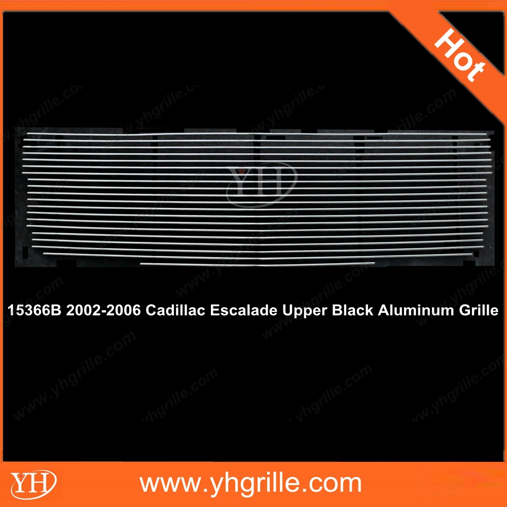 ying hui made grille for 2002-2006 Cadillac grille Escalade Upper Black Aluminum front Grille Replacement