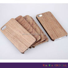 Custom cell phone case, Back Case For iPhone 5/ 6/ 6 Plus, New Style Wooden Case For iPhone 6