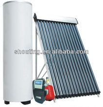 Pressurized Split Solar Water Heating System for Home