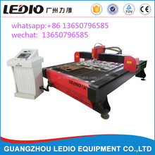 Guangzhou LEDIO 1325 plasma metal cutting cnc router machine for iron stainless steel aluminium