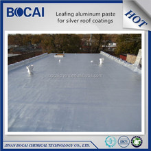 leafing aluminium pigment for silver color house roof coating, radiation protection paint