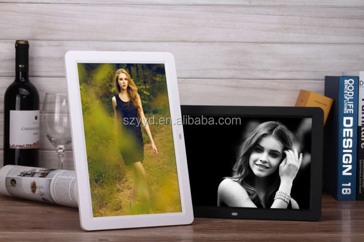 battery operated 12 inch digital photo frame