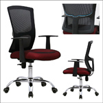 C30# Latest popular office furniture trade assurance colourful mesh office chairs