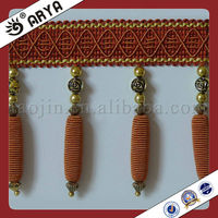 Bulk Curtain Lace, Fabric Trims for curtain Tapestry and sofa ,cushion,Tassel Trim for Curtain