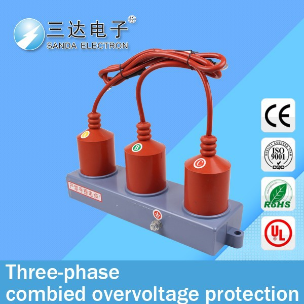 three-phase over-and-under voltage protector
