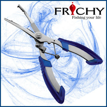 FPN03 Stainless Steel Long Nose Fishing Pliers Braid Line Fishing Scissors