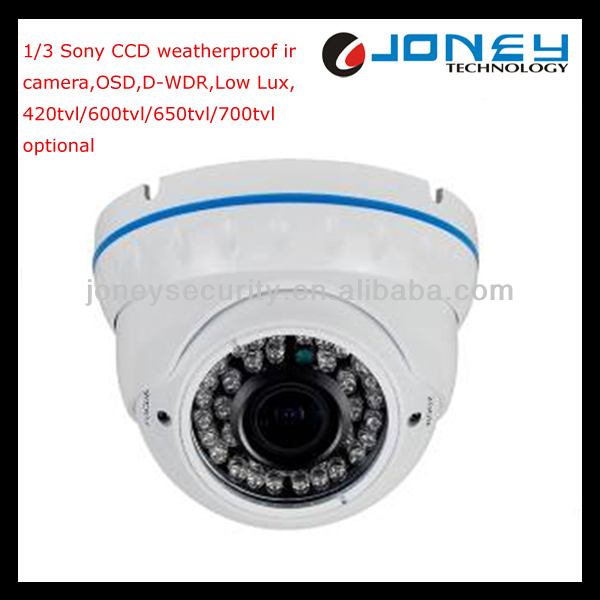 1/3 SONY 700TVL Cheap cctv dome camera 36 pcs IR LED 30M IR Distance
