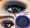 Good color shade makeup pigments colored glitter powder for eye shadow