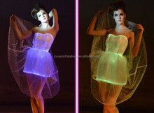 2015 New style LED stage performance dress LED stage clothing for women