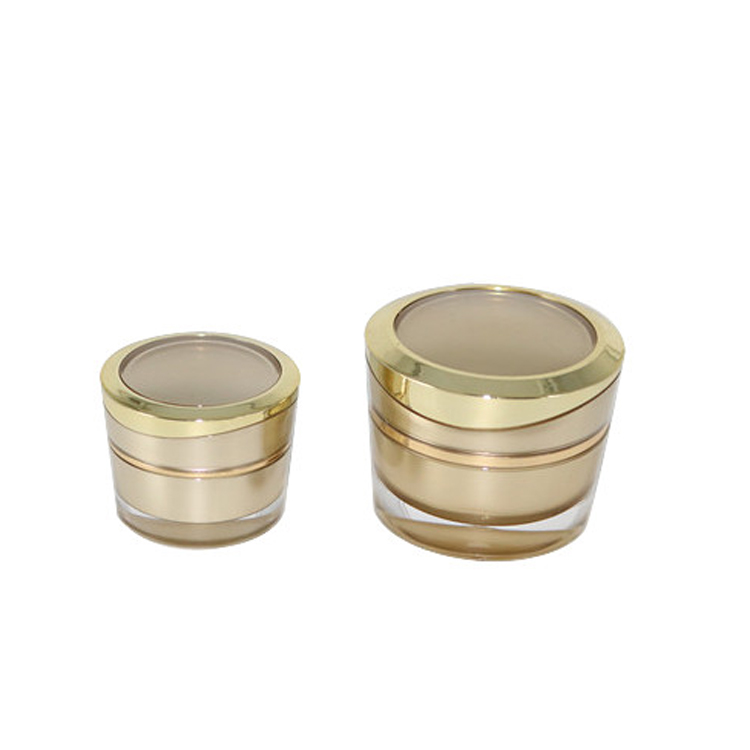 2016 Hot sale High Quality for Care Products packaging mini small nail oil 10g acrylic cream jar