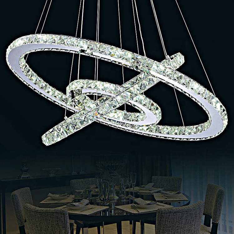 Hot Sale Modern Crystal Modern Crystal Turkish Crystal Chandelier DIY Circle Chandelier