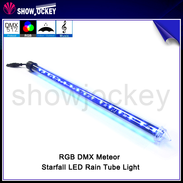 500100015002000mm dream color 3d effect dmx control led pixel meteor - Starfall Color
