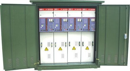 outdoor type cable distribution box in electric power system project