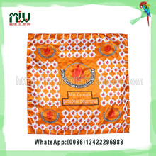 Leader Custom Wholesale Square High Quality Silk Scarf