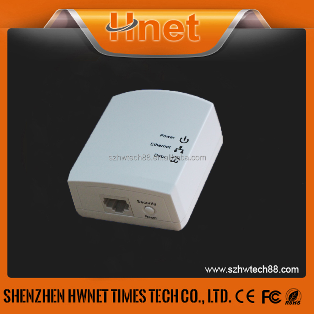 Hnet homeplug Av500M powerline ethernet over adapter Kit Wallmount Wired Wifi Av internet powerline adaptor