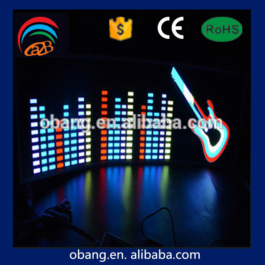 Wholesale Excellent Auto Body Decoration Diy Custom Design Led El Car Sticker