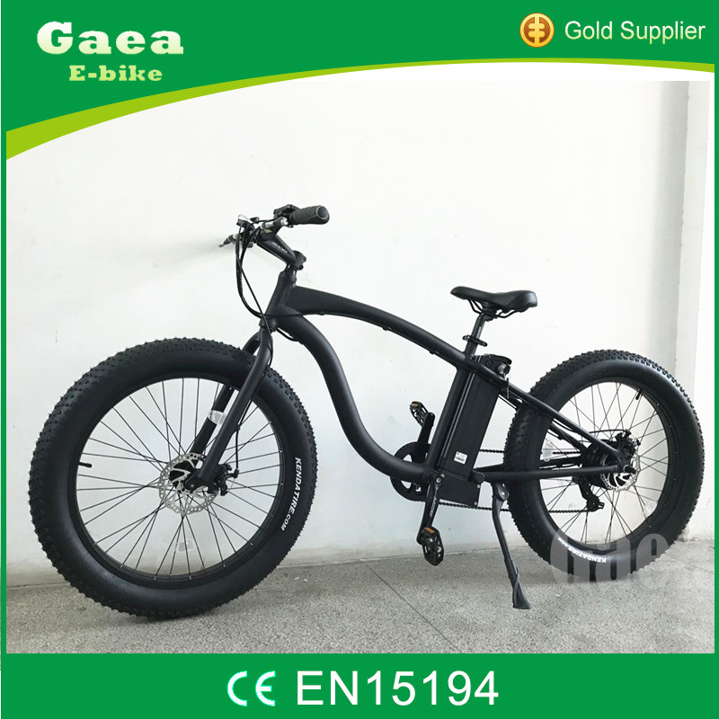 Gaea emotion fat electric bike with mountain strong tires with folding